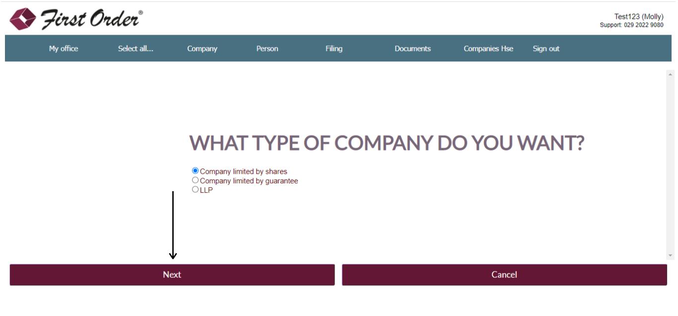 Form a company
